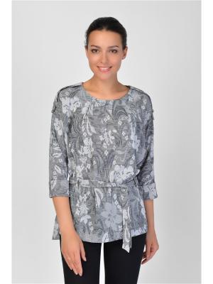 Блузка Maria Velada. Цвет: серый