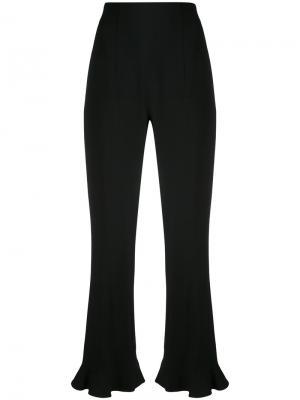 Укороченные расклешенные брюки Altuzarra. Цвет: чёрный
