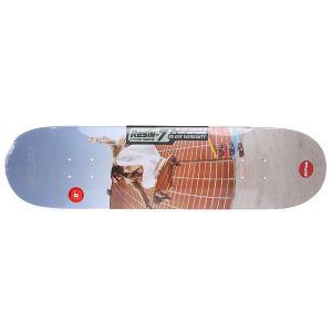 Дека для скейтборда  Seu Trihn Colab R7 Haslam 31.7 x 8 (20.3 см) Almost. Цвет: мультиколор