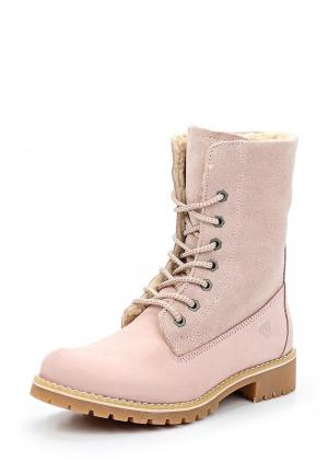 Ботинки Tamaris. Цвет: розовый