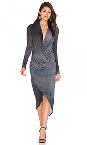 Платье cassie CHARLI. Цвет: аспидно-серый