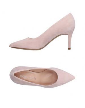 Туфли ANDREA CATINI. Цвет: светло-розовый