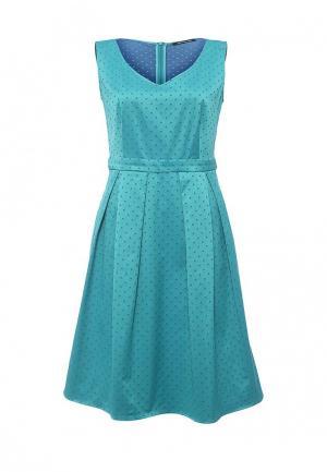 Платье Pennyblack. Цвет: голубой