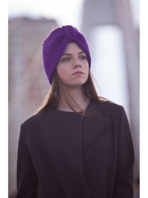Повязка на голову EMMY. Цвет: фиолетовый