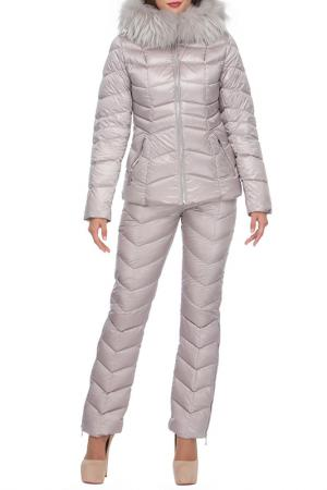 Комплект: куртка, брюки Conso. Цвет: жемчужный