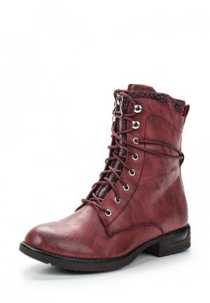 Ботинки Mellisa. Цвет: бордовый