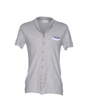 Pубашка JEY COLE MAN. Цвет: светло-серый