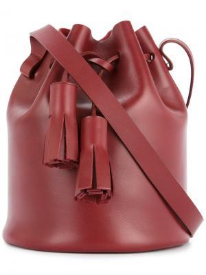 Мини сумка-мешок Building Block. Цвет: красный