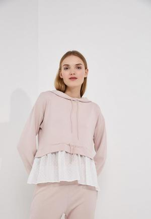 Худи French Connection. Цвет: розовый