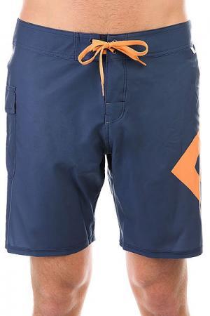 Шорты пляжные DC Lanai 18 Summer Blues Shoes. Цвет: синий,оранжевый