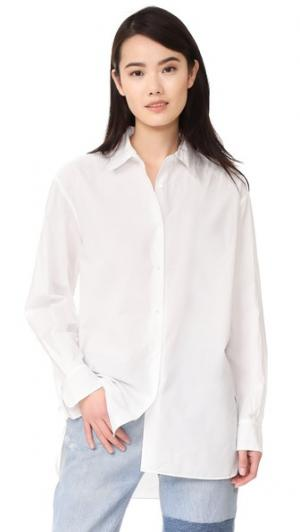 Рубашка Yorke Nili Lotan. Цвет: белый