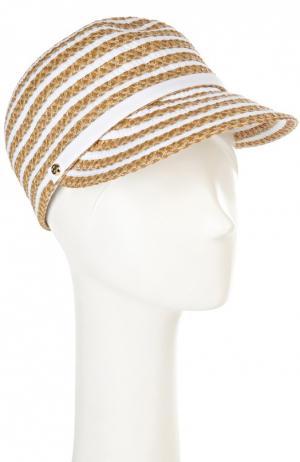 Шляпа Eric Javits. Цвет: бежевый