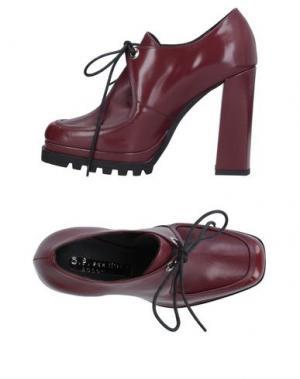 Обувь на шнурках G.P. PER NOY BOLOGNA. Цвет: красно-коричневый