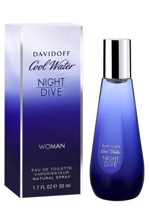 Cool Water Night Dive EDT,50мл Davidoff. Цвет: none