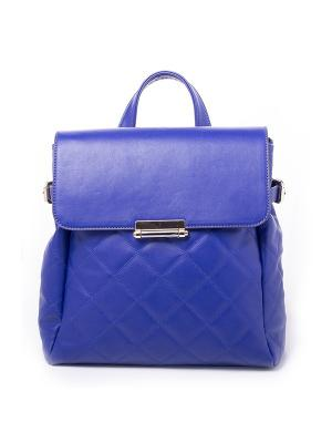 Рюкзак RENEE KLER. Цвет: синий