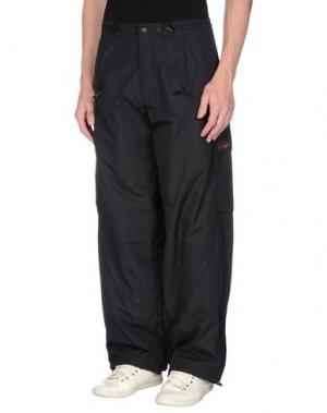 Повседневные брюки LEVIATHAN. Цвет: стальной серый