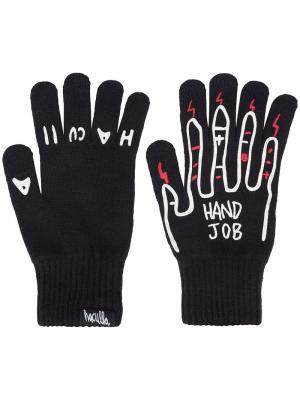 Перчатки Handjob 2.0 Haculla. Цвет: чёрный