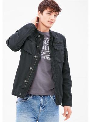 Куртка S.OLIVER. Цвет: темно-серый