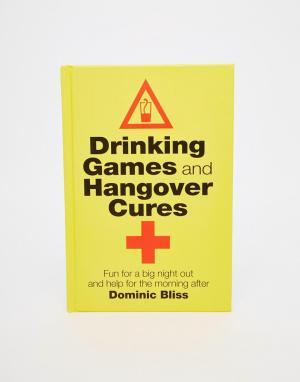Books Книга Drinking Games & Hangover Cures. Цвет: мульти
