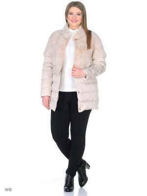Куртка PRIMA WOMAN. Цвет: светло-бежевый