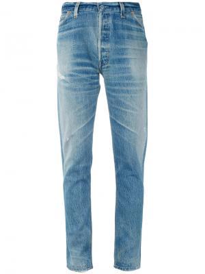 Slim-fit jeans Re/Done. Цвет: синий