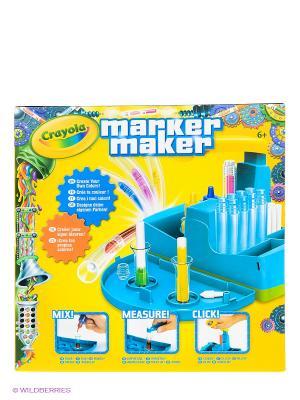 Набор Мастер фломастер Crayola. Цвет: голубой