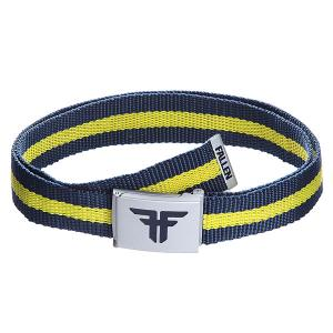 Ремень  Trademark Nylon Belt Mid Blue/Fluro Yellow Fallen. Цвет: желтый,синий