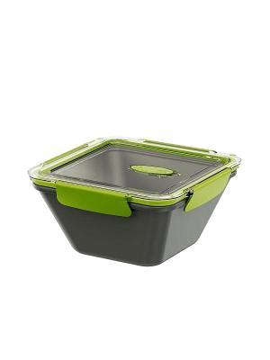 Ланч-бокс EMSA BENTO BOX 1.5л серый/зеленый 513953. Цвет: серый, зеленый