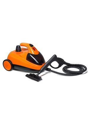 Пароочиститель Kitfort. Цвет: оранжевый