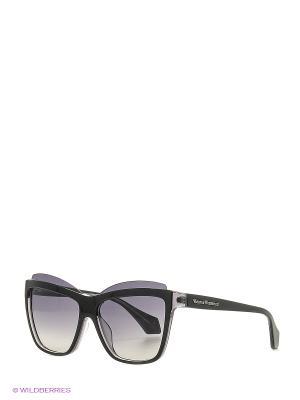 Солнцезащитные очки VW 877S 01 Vivienne Westwood. Цвет: черный