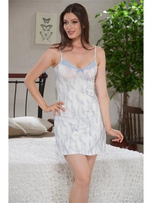 Ночная сорочка SEVIM. Цвет: белый