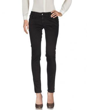 Повседневные брюки GUARAPO. Цвет: темно-коричневый
