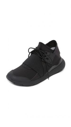 Кроссовки со шнуровкой  Qasa Elle Y-3. Цвет: базовый черный/практичный черный