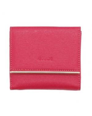 Бумажник GIUDI. Цвет: фуксия