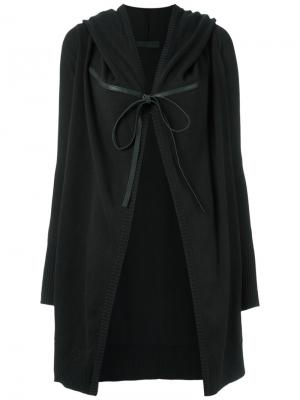 Hooded cardigan Uma | Raquel Davidowicz. Цвет: чёрный