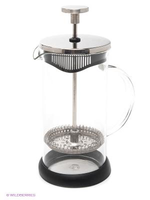 Заварочный чайник Френч-Пресс, 350 мл MAYER-BOCH. Цвет: прозрачный