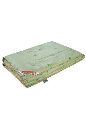 Одеяло Бамбук Royal 140*205см. 1st Home. Цвет: светло-зеленый