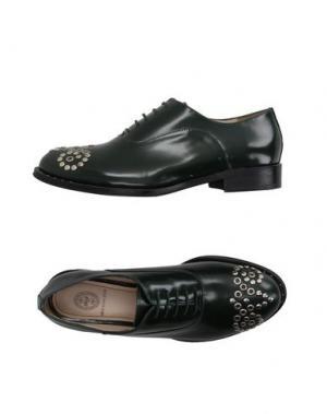 Обувь на шнурках RÊVE D'UN JOUR. Цвет: темно-зеленый