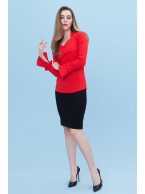 Блузка DEMURYA. Цвет: красный