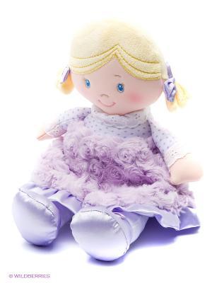 Игрушка мягкая Cece Doll Gund. Цвет: лиловый, светло-бежевый