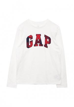Лонгслив Gap. Цвет: белый