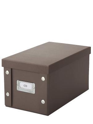 Коробка для DVD дисков DEEPOT. Цвет: коричневый