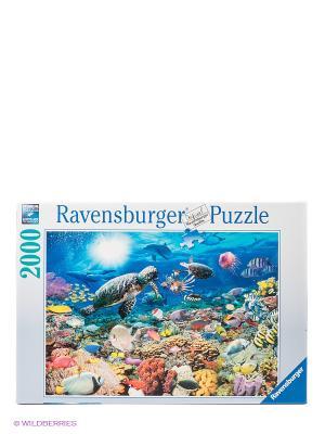 Паззл Подводный мир, 2000 шт Ravensburger. Цвет: голубой
