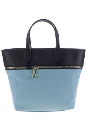 Сумка Pitti bags. Цвет: синий