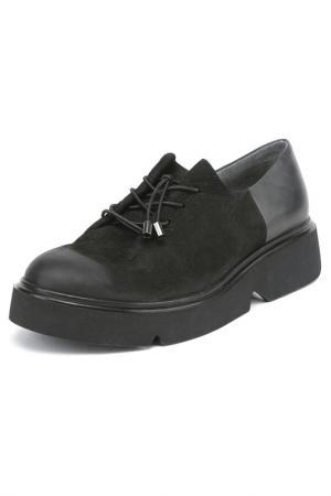 Туфли Sandm. Цвет: черный