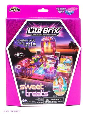 Конструктор Lite Вrix. Цвет: фиолетовый, фуксия