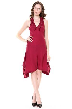 Платье GERMANO ZAMA. Цвет: красный