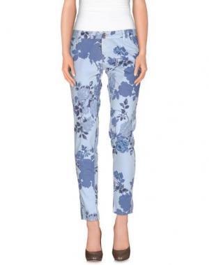 Повседневные брюки JCOLOR. Цвет: пастельно-синий