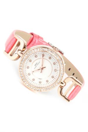 Часы на ремне IBSO. Цвет: золотистый, розовый