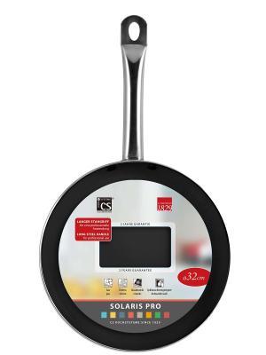 Сковорода SOLARIS PRO с антипригарным покрытием Procalon, D28 Koch Systeme. Цвет: черный